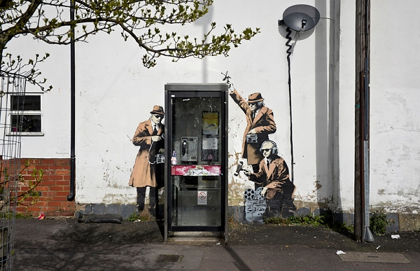 Spy Booth - Banksy