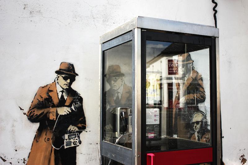 Arte Urbano Banksy desaparece