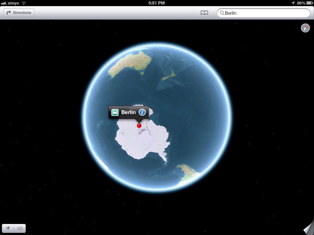 Ixotyhpe - Blog - Apple Maps #epicfail