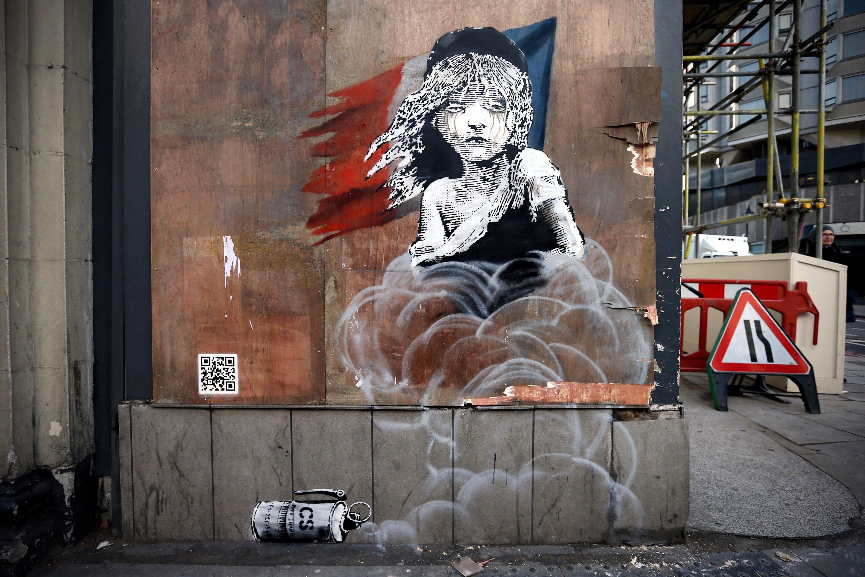 Banksy ataca de nuevo en Londres