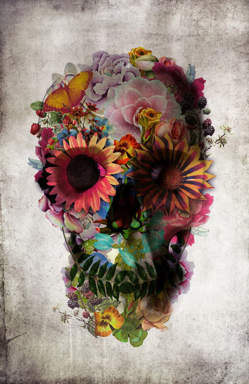 Ixotype - Blog - Ali Goulec - Skull 1