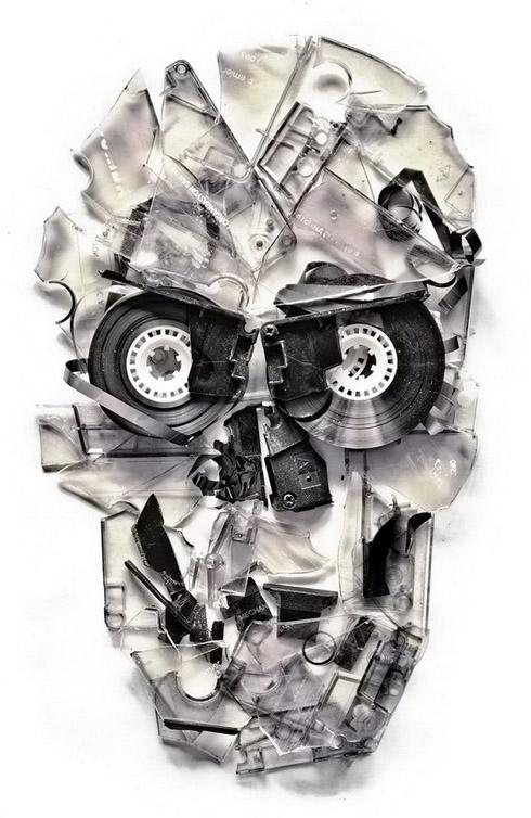 Ixotype - Blog - Ali Goulec - Skull 2