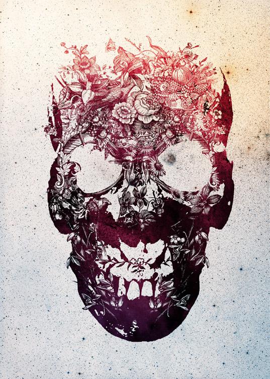 Ixotype - Blog - Ali Goulec - Skull 3