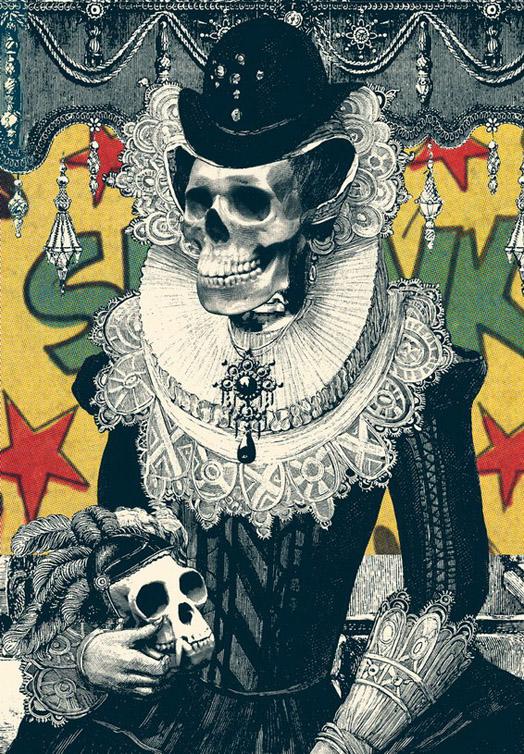 Ixotype - Blog - Ali Goulec - Skull