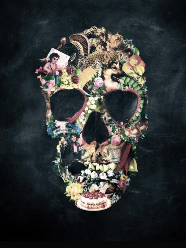 Ixotype - Blog - Ali Goulec - Skull 6