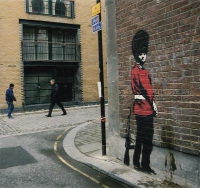 Ixotype - Blog - Arte y diseño al estilo Banksy 1