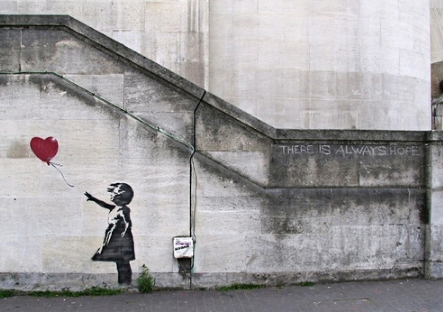 Ixotype - Blog - Banksy - Girl and balloon