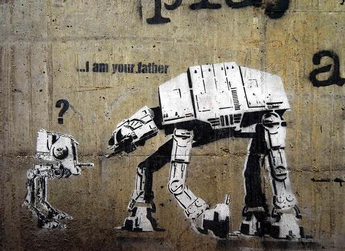 Ixotype - Blog - Banksy I am your father