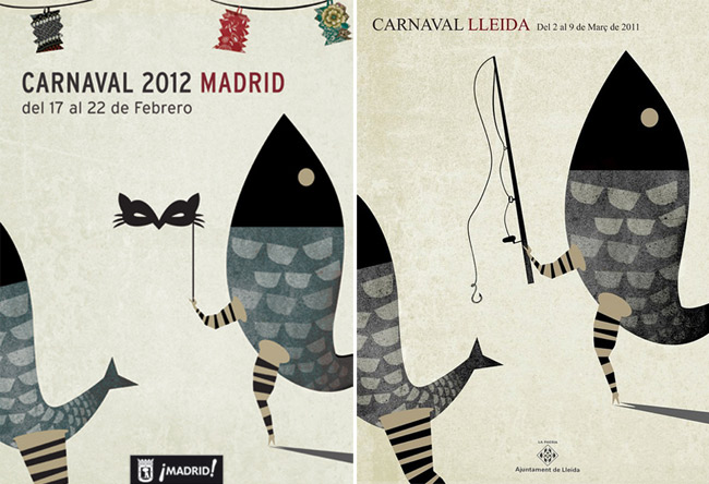 Ixotype - Blog - Cartel Carnaval Madrid 2012