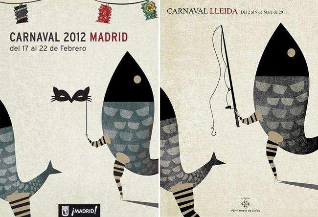 Ixotype - Blog - Cartel Carnaval Madrid 2012