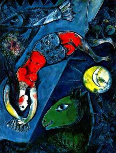 Ixotype - Blog - Chagall - El circo azul
