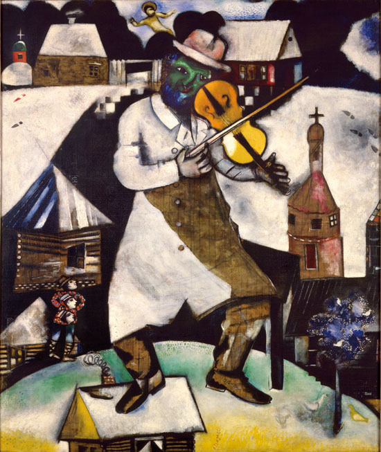 Ixotype - Blog - Chagall - El violinista