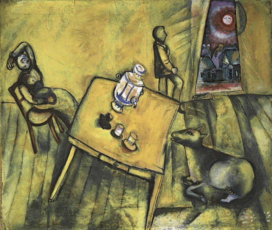 Ixotype - Blog - Chagall - La habitación amarilla