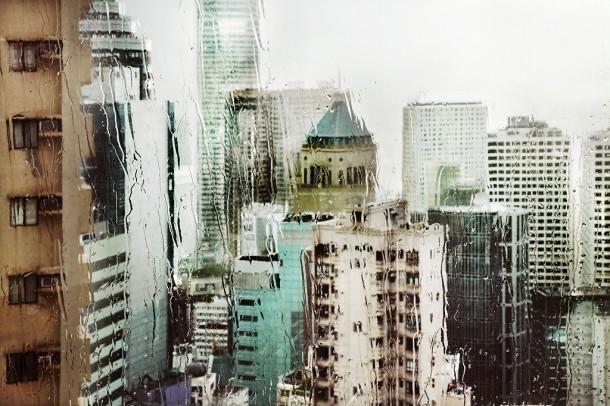 Ixotype - Blog - Christophe Jacrot - Hong Kong bajo la lluvia