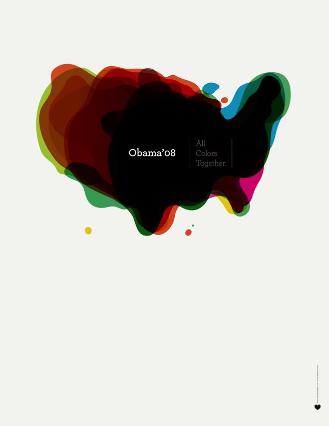 Ixotype - Blog - Design for Obama - All colors together