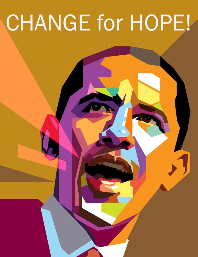 Ixotype - Blog - Design for Obama - - CHANGE FOR HOPE