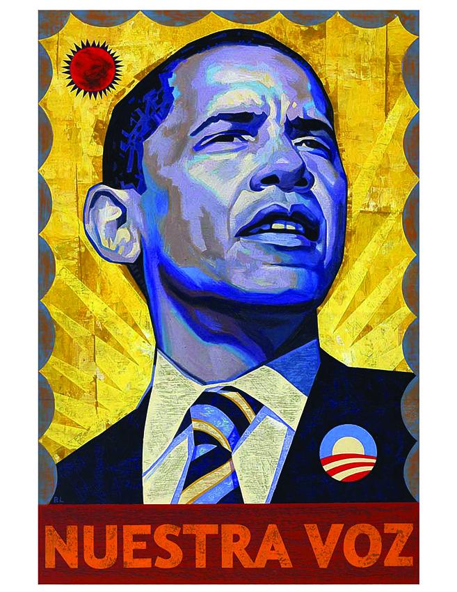 Ixotype - Blog - Design for Obama - NUESTRA VOZ