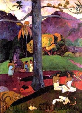 Ixotype - Blog - Gauguin Mata Mua