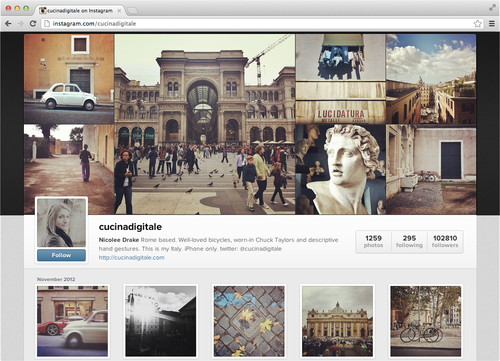 Ixotype - Blog - Instagram en la web