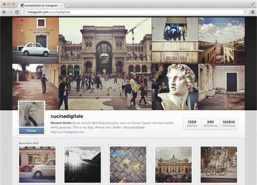 Ixotype - Blog - Instagram en la web