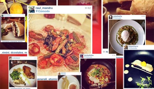 Ixotype - Blog - Instagram menú restaurante