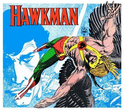 Ixotype - Blog - Joe Kubert - Hawkman
