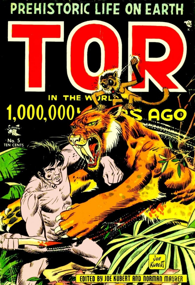 Ixotype - Blog - Joe Kubert - Tor
