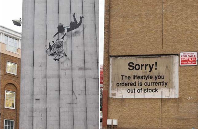 Ixotype - Blog - Lo último de Banksy en Londres