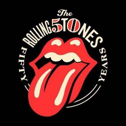 Ixotype - Blog - Logo 50 aniversario Rolling Stones