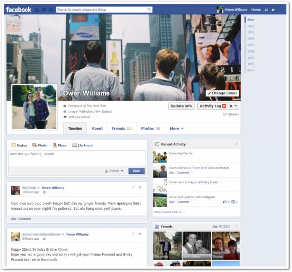 Ixotype - Blog - Nuevo perfil de Facebook