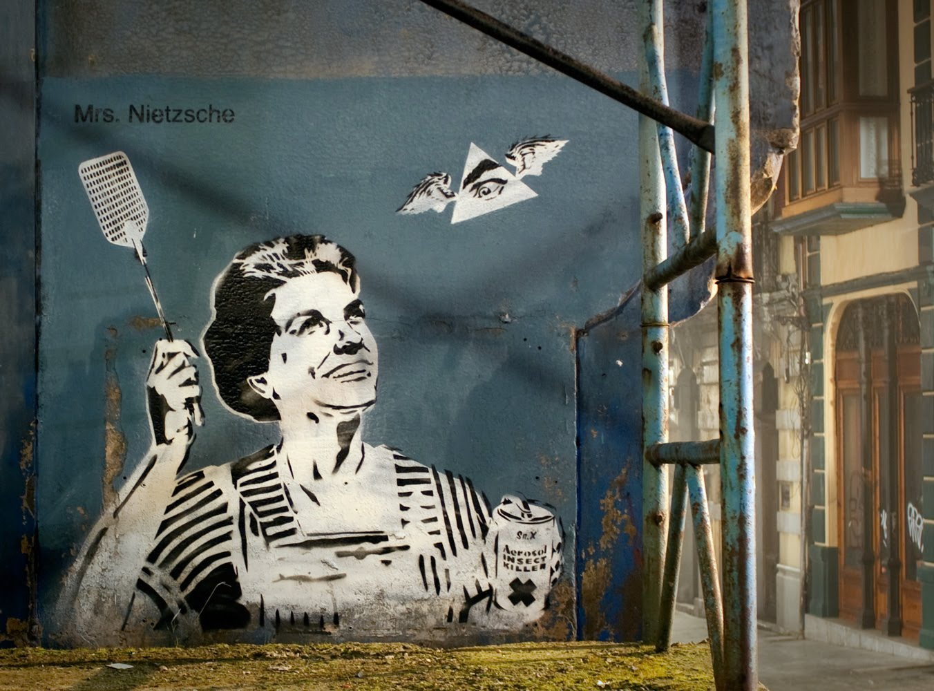 Ixotype - Blog - Señor X - Arte Urbano hecho en Asturias