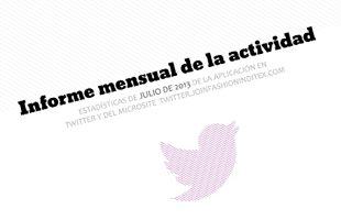 Ixotype - Inditex - Informe estadístico aplicación Twitter - Joinfashioninditex