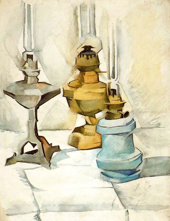 Ixotype - Tres lamparas - Juan Gris