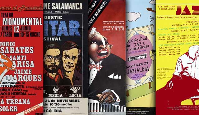Jazz y diseño grafico en España - Blog - Ixotype