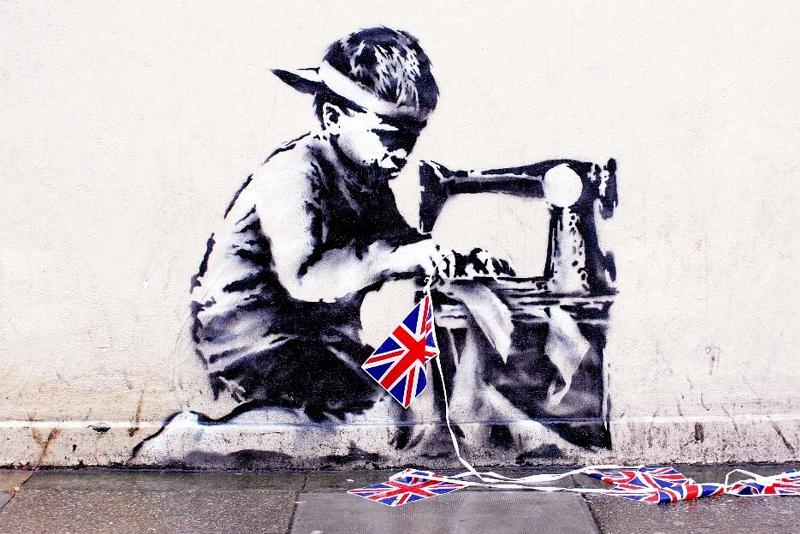 Slave Labour - Banksy