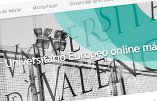 Web Master Adiciones Universidad de Valencia