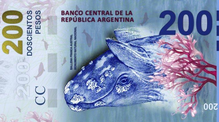 Polémica billete 200 pesos Argentina