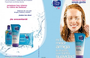 Portfolio Ixotype Folleto Johnson & Johnson - Clean & Clear - Diseño y Creativdad 0