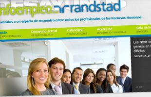 Web Desayunos Randstad-Infoempleo
